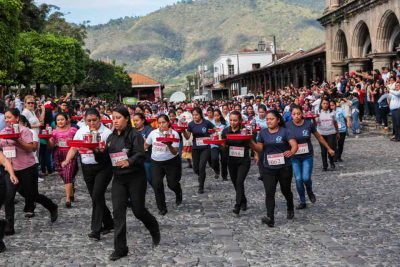 Tradicional Carrera de Charolas en Antigua Guatemala