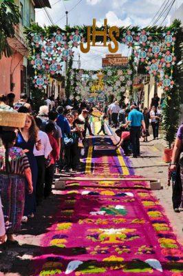 Tradiciones de Guatemala, Corpus Christi en Patzún, Chimaltenango