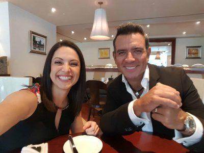 En una entrevista con Héctor Sandarti (Foto: Facebook/Tuti Furlán)