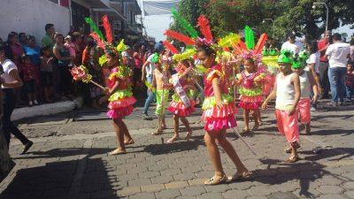 desfile alegórico de san francisco zapotitlan