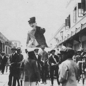 desfile bufo en la antiguedad