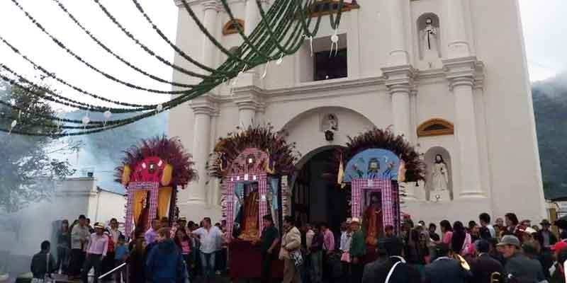 fiesta patronal de san lucas tolimán