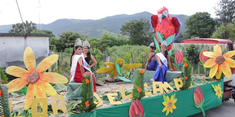 fiesta patronal de san rafael las flores