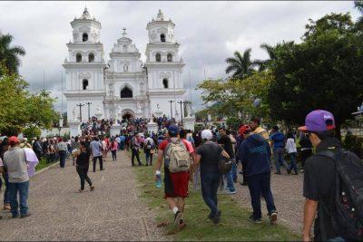 peregrinación a la basílica de esquipulas