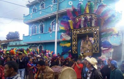 procesión de chiché quiché