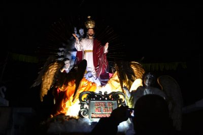 procesión de nueva santa rosa