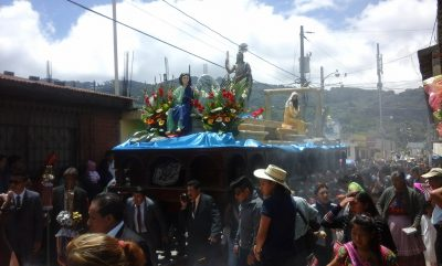 procesion de san bartolome milpas altas
