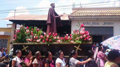 procesión de san francisco zapotitlán