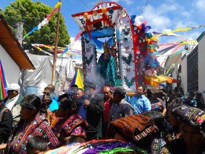 procesión de san josé chacayá