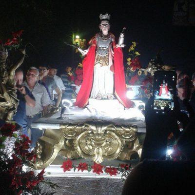 procesion de santa barbara