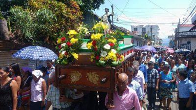 procesión de santiago apostol en coatepeque