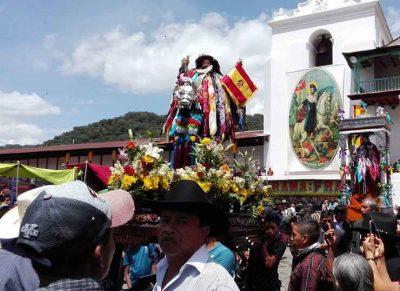 procesión de santiago atitlán