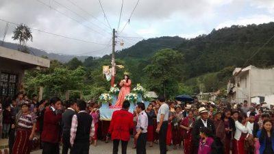 procesion en nebaj