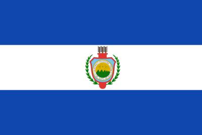Bandera y escudo del Estado de Guatemala 1843-1851