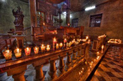 Basilica El Calvario del municipio de Cobán en el departamento de Alta Verapaz