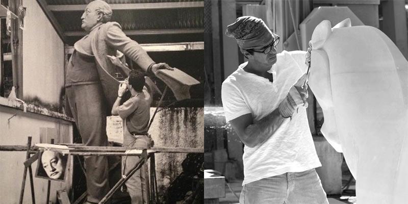 Biografía del escultor guatemalteco Max Leiva