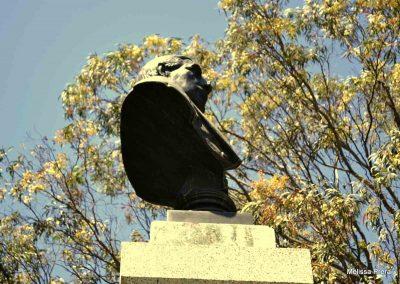 Busto de Benito Juárez en Guatemala