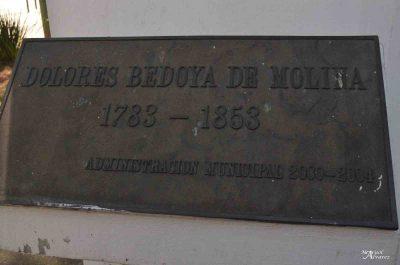 Busto de Dolores Bedoya de Molina