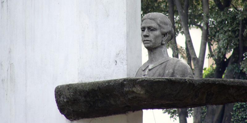 Busto de Dolores Bedoya de Molina en Guatemala
