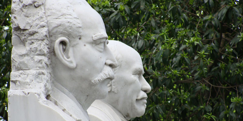 Busto de los Creadores del Himno de Guatemala