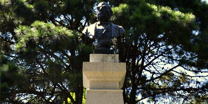 Busto en Guatemala de Benito Juárez