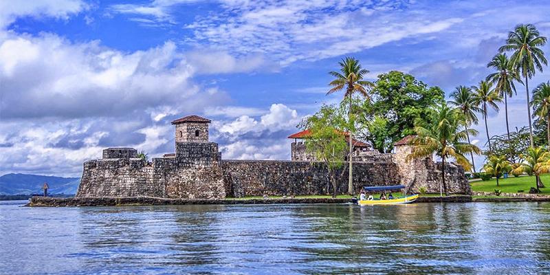 Castillo de San Felipe en Guatemala