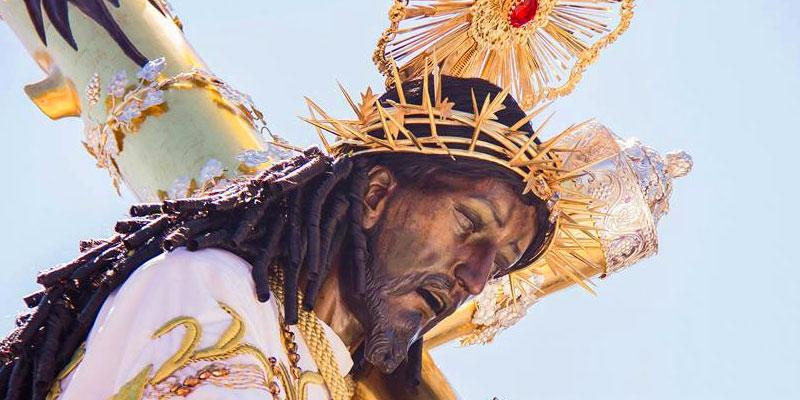 Consagrada imagen de Cristo Rey de Candelaria