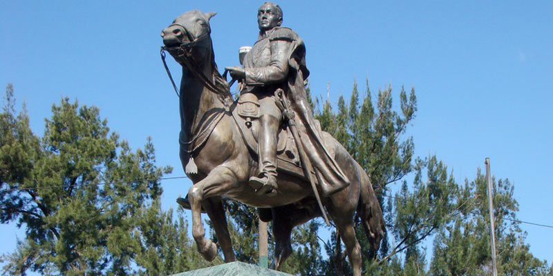 Dónde queda el Monumento a Simón Bolívar en Guatemala