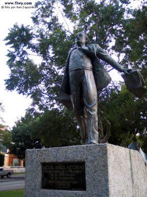 Dónde se encuentra el monumento a Miguel Ángel Asturias en Guatemala