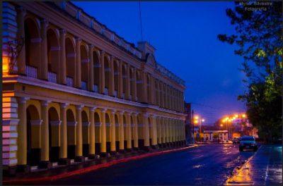 Edificio de Gobernación Departamental del municipio de Cobán, Alta Verapaz