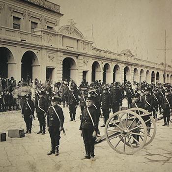 El Portal del Comercio de la Ciudad de Guatemala