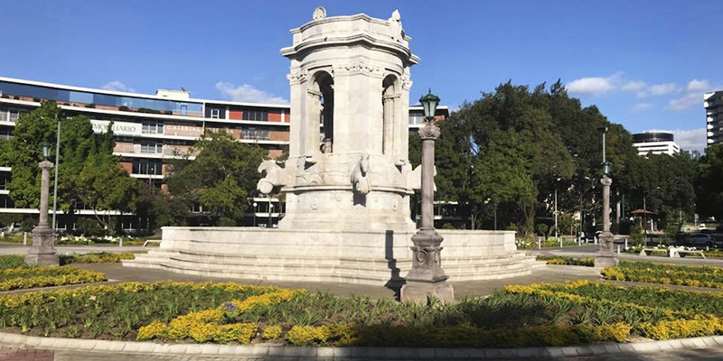 Fuente de Carlos III en la Ciudad de Guatemala