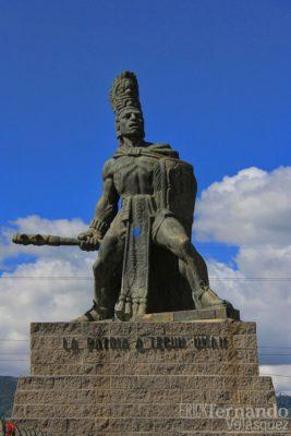 Historia de Tecún Umán en Guatemala