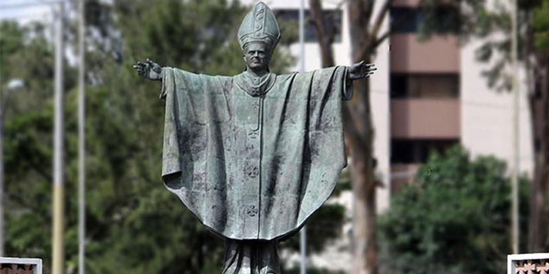 Historia del Monumento a Juan Pablo II en Guatemala