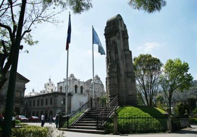 Historia del monumento a Justo Rufino Barrios en Quetzaltenango