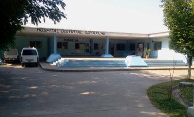 Hospital del municipio de Sayaxché, Petén