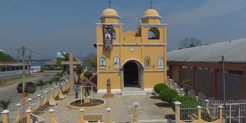 Iglesia Católica del Municipio de san benito, Petén