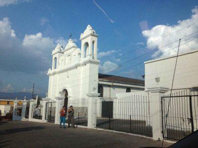 Iglesia Católica del municipio de Quesada departamento de Jutiapa