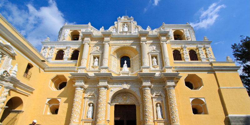 Iglesia de La Merced en La Antigua Guatemala
