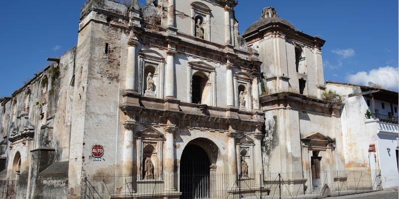 Iglesia de San Agustín en La Antigua Guatemala