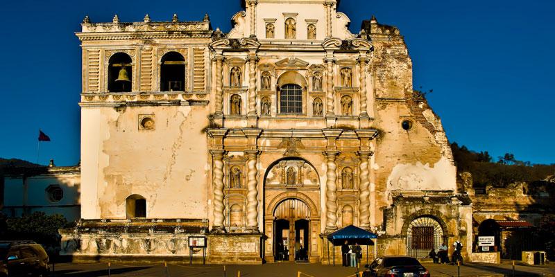 Iglesia de San Francisco en La Antigua Guatemala