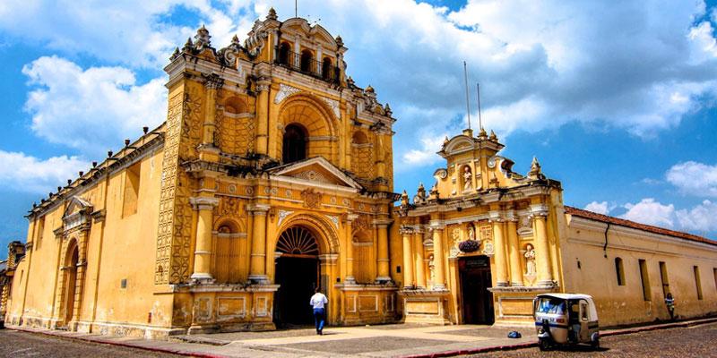 Iglesia de San Pedro Apóstol en La Antigua Guatemala