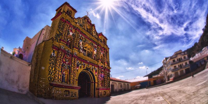 Iglesia de san andres xecul en totonicapan