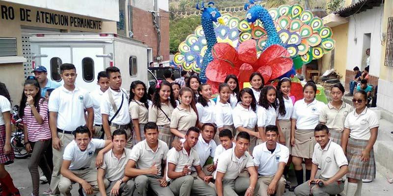 Instituto del municipio de Zapotitlan del departamento de Jutiapa