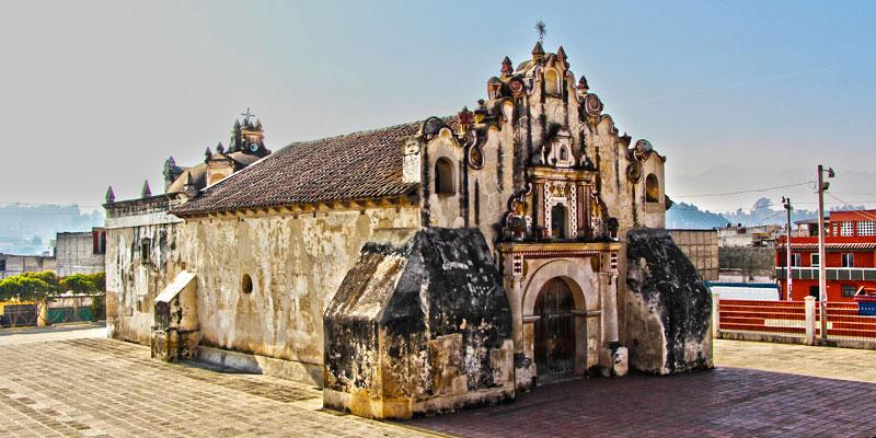 La Ermita de la Concepción en Salcajá