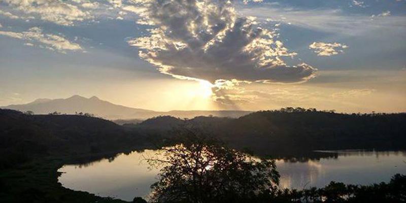 Laguna del Comendador en el municipio de Pasaco departamento de Jutiapa