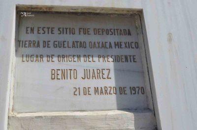 Monumento a Benito Juárez en Guatemala