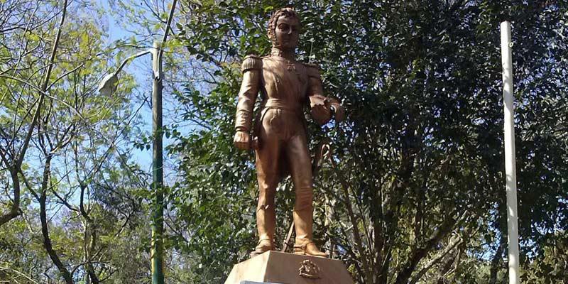 Monumento a Bernardo O´Higgins Riquelme en Guatemala