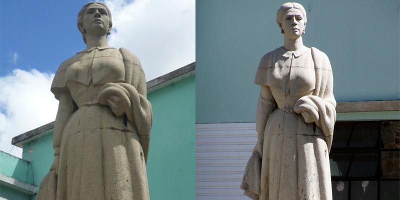 Monumento a Dolores Bedoya de Molina en Guatemala