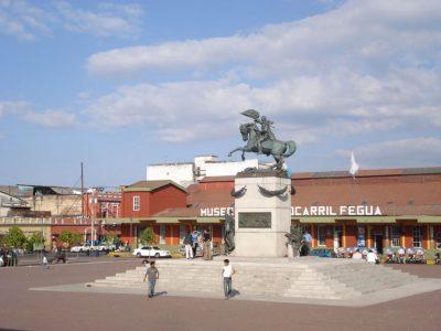 Monumento a Justo Rufino Barrios en Guatemala